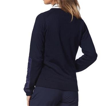 Calvin Klein Golf Ladies Chara Lined Cardigan Navy