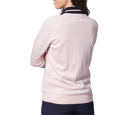 Calvin Klein Golf Ladies Chara Lined Cardigan Pink Mist
