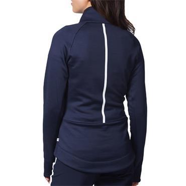 Calvin Klein Golf Ladies Cassio Stretch Top Navy