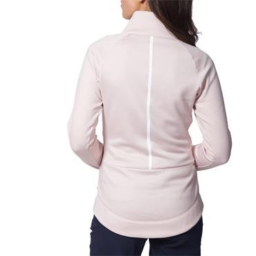 Calvin Klein Golf Ladies Cassio Stretch Top Pink Mist