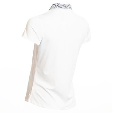 Calvin Klein Golf Ladies Sunray Polo White Powder