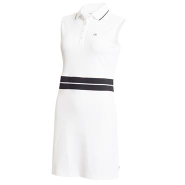 Calvin Klein Golf Ladies Zulu Dress White - Black