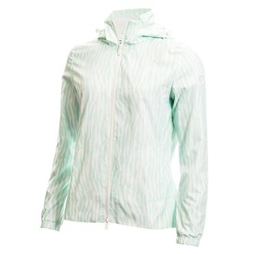 Calvin Klein Golf Ladies Alvar Jacket Aqua - White