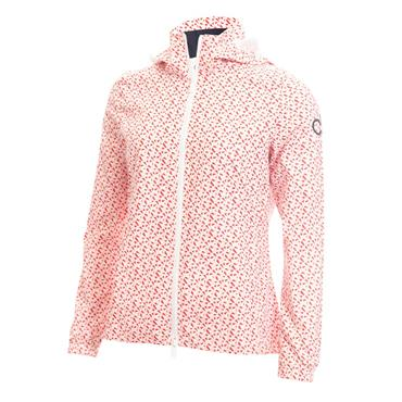 Calvin Klein Golf Ladies Alvar Jacket Scarlet - White