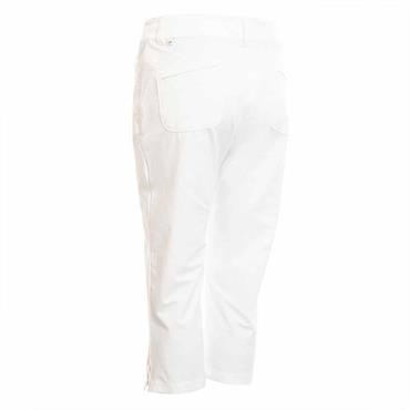Calvin Klein Golf Ladies Arkose Capri White