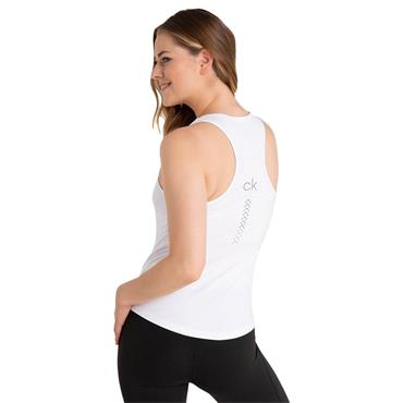 Calvin Klein Golf Ladies Vibe Racerback Tank Top White