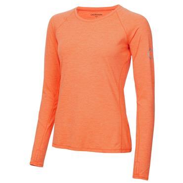 Calvin Klein Golf Ladies Vibe Long Sleeve T- Shirt Coral Marl