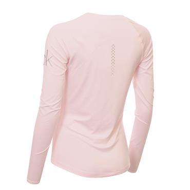 Calvin Klein Golf Ladies Vibe Long Sleeve T- Shirt Pink