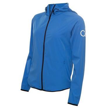 Calvin Klein Golf Ladies Arena Windbreaker Jacket Yale Blue