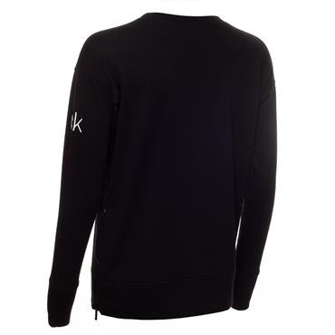 Calvin Klein Golf Ladies Chill Force Sweatshirt Black