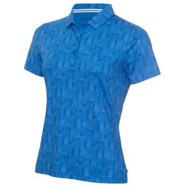 Calvin Klein Golf Ladies Avon Polo Yale Blue