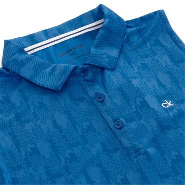 Calvin Klein Golf Ladies Avon Sleeveless Polo Yale Blue