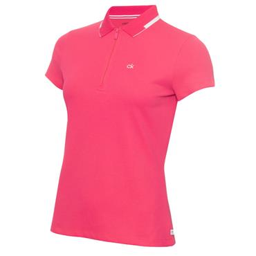 Calvin Klein Golf Ladies Ness Cap Sleeve Polo Jete