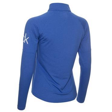 Calvin Klein Golf Ladies 1/4 Zip Layering Top Yale Blue