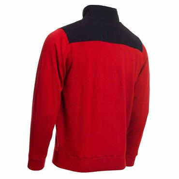 Calvin Klein Golf Gents Extend Lined Sweater Red
