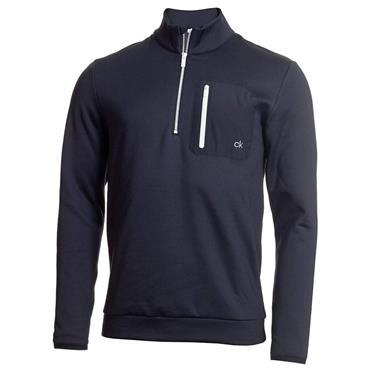 Calvin Klein Golf Gents Voyage 1/2 Zip Sweater Navy