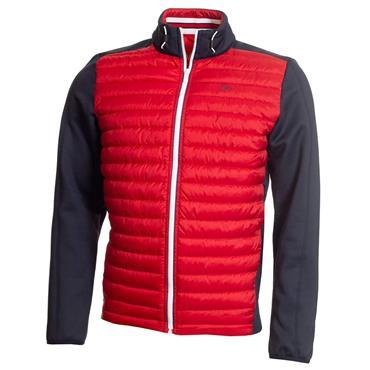 Calvin Klein Golf Gents Hybrid Jacket Navy - Red