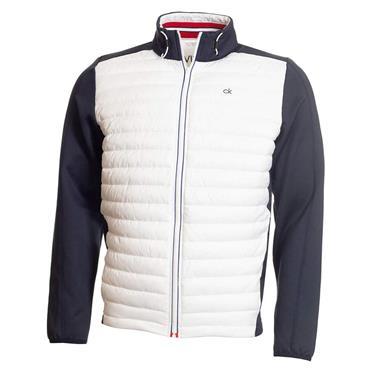 Calvin Klein Golf Gents Hybrid Jacket Navy - White