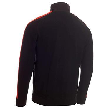 Calvin Klein Golf Gents Glacier Lined ½ Zip Sweater Black