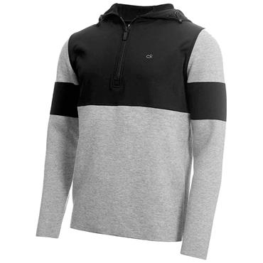 Calvin Klein Golf Gents Yosemite Hooded Sweater Grey Marl