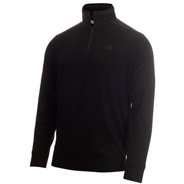 Calvin Klein Golf Gents Bruce Lined ½ Zip Sweater Black