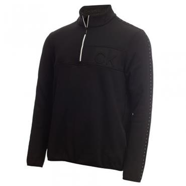 Calvin Klein Golf Gents Denali ½ Zip Top Black
