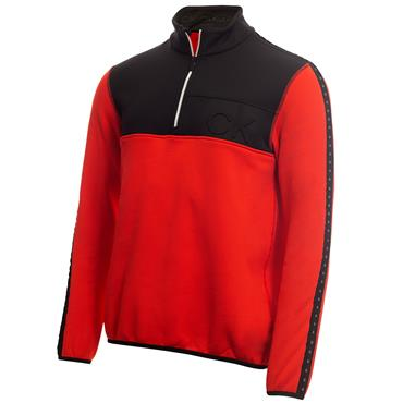 Calvin Klein Golf Gents Denali ½ Zip Top Cayenne