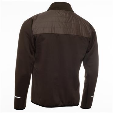 Calvin Klein Golf Gents Wrangell Hooded Hybrid Jacket Olive Green
