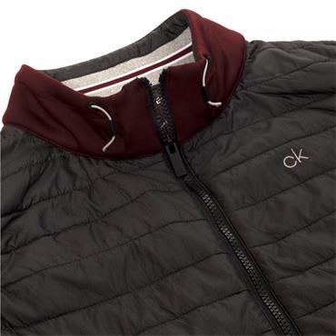 Calvin Klein Golf Gents Wrangell Hybrid Gilet Blackberry