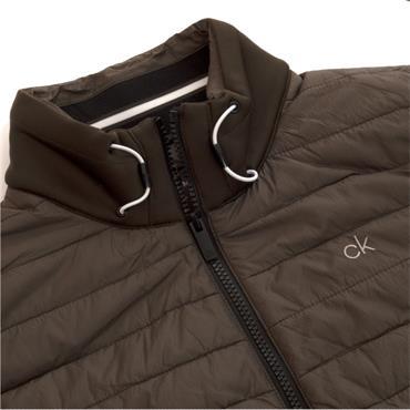 Calvin Klein Golf Gents Wrangell Hybrid Gilet Olive Green