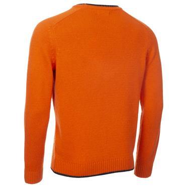 Calvin Klein Golf Gents Chunky Crew Neck Sweater Blaze