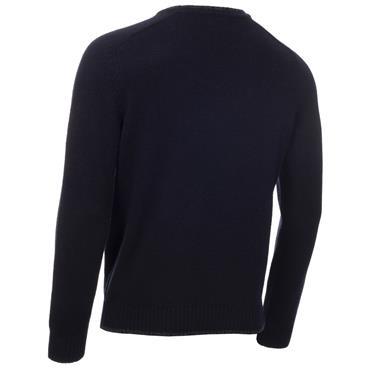 Calvin Klein Golf Gents Chunky Crew Neck Sweater Navy