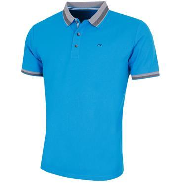 Calvin Klein Golf Gent Spark Polo Shirt Azure