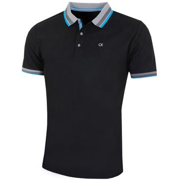 Calvin Klein Golf Gent Spark Polo Shirt Black