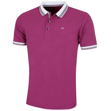 Calvin Klein Golf Gent Spark Polo Shirt Regal