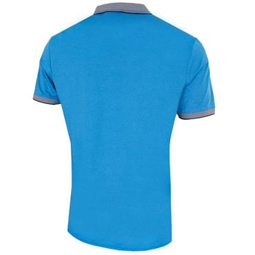 Calvin Klein Golf Gents Parallel Polo Shirt Azure