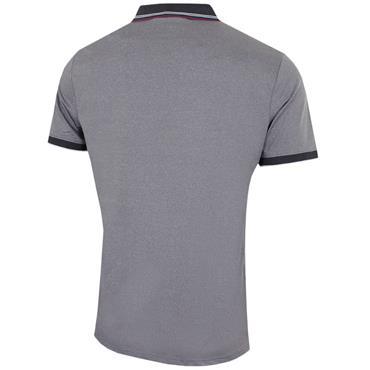 Calvin Klein Golf Gents Parallel Polo Shirt Silver