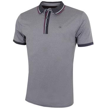 41f455a57 Calvin Klein Golf Gents Parallel Polo Shirt Silver ...