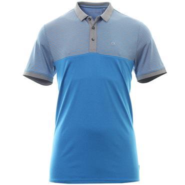 Calvin Klein Golf Gents Rise Polo Shirt Azure