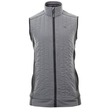 Calvin Klein Golf Gents Cyclone Padded Vest Silver