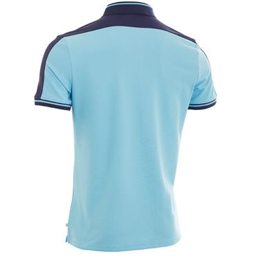 Calvin Klein Golf Gents Aerospan Polo Shirt Sky Blue