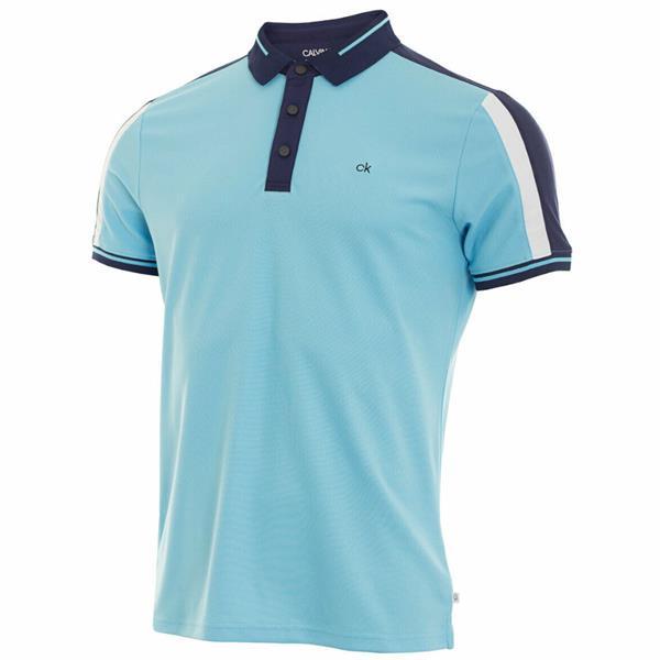13df93b0 Calvin Klein Golf Gents Aerospan Polo Shirt Sky Blue | Golf Store