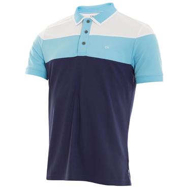 Calvin Klein Golf Gents Arinox Polo Shirt Navy