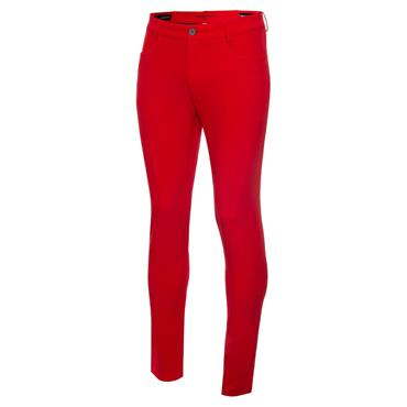 Calvin Klein Golf Gents 4-Way Slim Fit Stretch Trousers Power Red