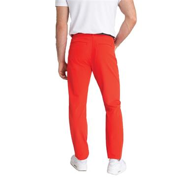 Calvin Klein Golf Gents 4 Way Slim Fit Stretch Trousers Fiery Red