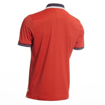 Calvin Klein Golf Gents Blade Polo Shirt Red - Navy