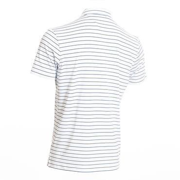 Calvin Klein Golf Gents Splice Polo Shirt White - Navy
