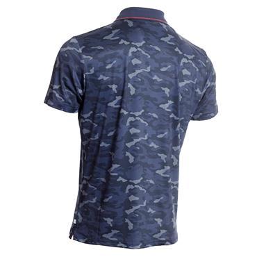 Calvin Klein Golf Gents Camo-Pro Polo Shirt Navy