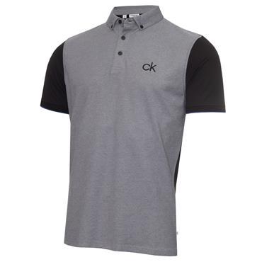 Calvin Klein Golf Gents Hagen Pique Polo Black