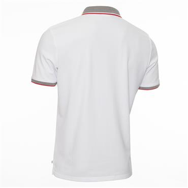 Calvin Klein Golf Gents Snead Polo Shirt White Power Red